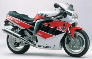 Suzuki GSXR750 89 1