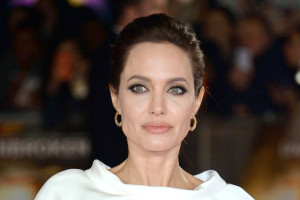 Angelina Jolie attends the 'Unbroken' UK Film Premiere at the Odeon Leicester Square, London, England. 25th November 2014. |